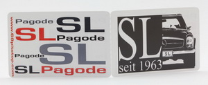 """SL seit 1963"" Limited Edition postage stamp set"