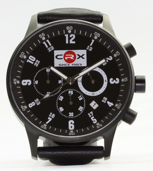 """CRX since 1983"" chronograph watch"
