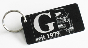 G seit 1979 key ring