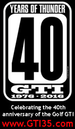GTI35.com - Celebrating the 35th anniversary of the Volkswagen Golf GTI