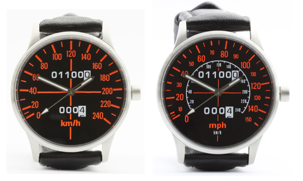 CB 1100 R speedometer kmh and mph watches
