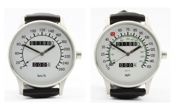 Vmax speedometer km/h and mph watches