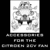 Accessories for 2CV enthusiasts