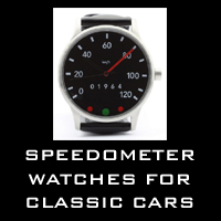 Speedometer watches for classic cars