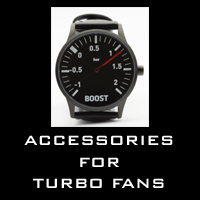 Accessories for the fans of turbocharged cars and bikes