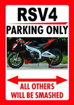 RSV4 PARKING ONLY
