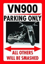 VN 900 PARKING ONLY
